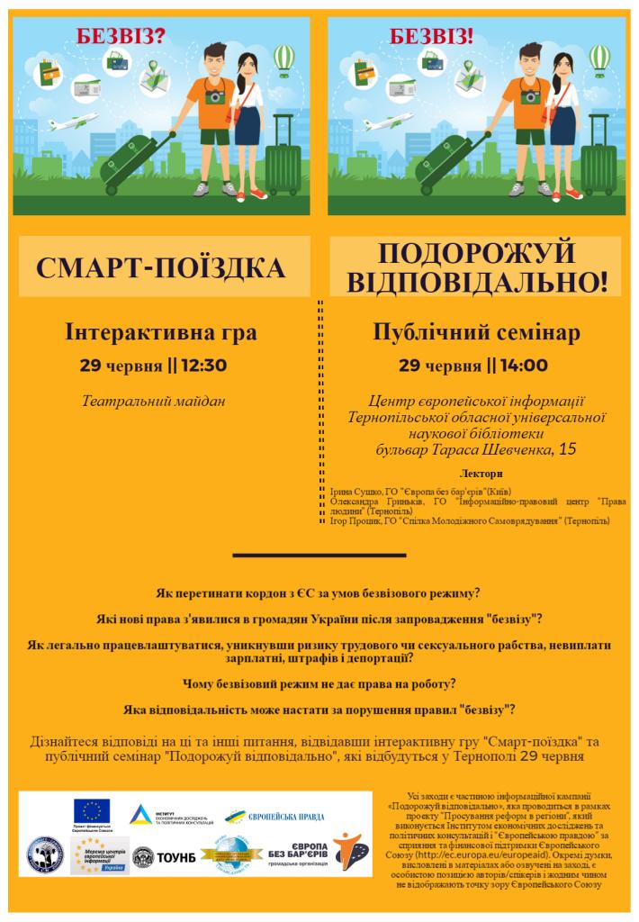 Оголошення для Тернополя